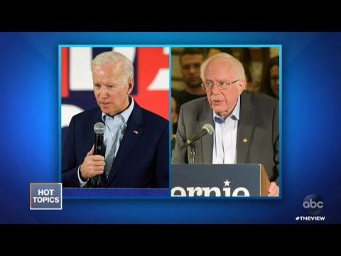 Bernie, Biden Feud Heating Up?