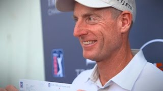 Jim Furyk shoots a record 58 at the Travelers Championship