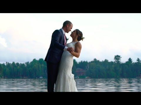 Jenna  Bill Northwoods Wedding Film