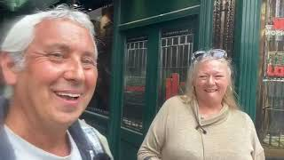 In Soho with former street worker exposing the vile child prostitution underbelly of London.