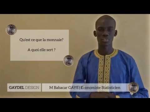 Cour Economie : Monnaie M Gaye part 1