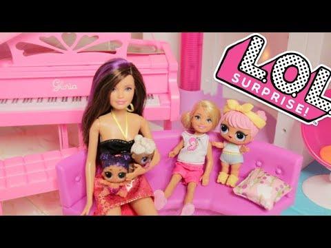 Barbie Sisters Skipper Babysitting L.O.L Surprise Confetti Dolls +lol series 3