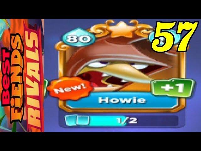 Best Fiends Rivals - New Fiend SUPER RARE Howie - Gameplay #57