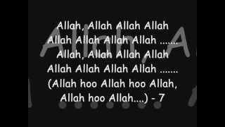 Allah Hoo Lyrics   Khuda Kay Liye by PITS