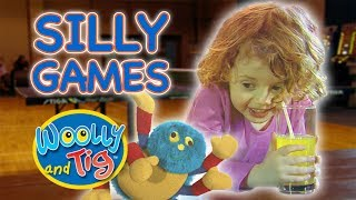 Woolly and Tig - Silly Games | Kids TV Show | Full Episode | Toy Spider