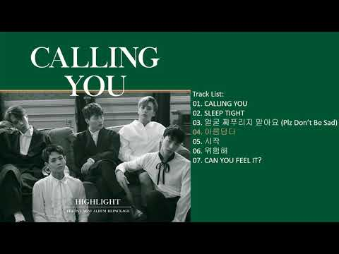 [Mini Album] Highlight – CALLING YOU (Repackage)