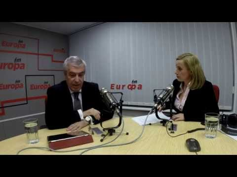 Călin Popescu Tăriceanu la Interviurile Europa FM