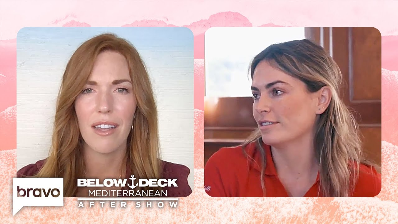 The Crew Reacts to Katie's Decision To Let Delaney Go | Below Deck Mediterranean After Show (S6 E12)
