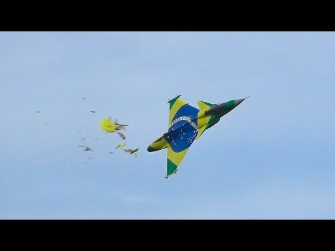 CRASH SAAB GRIPEN / Jet Power Fair 2016