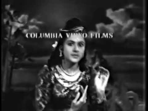 Thigambara Samiyar (Tamil, 1950) - Naathar Mudi - Kamala Dance