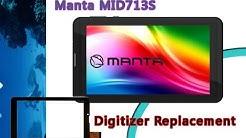 Manta MID713s MID713 Digitizer Replacement / Wymiana Dotyku   Selekt
