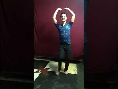 Tere kano mein double jhumka Kumauni dance (Chandan Nath)