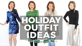 Holiday Fashion + Outfit Ideas! | Ingrid Nilsen