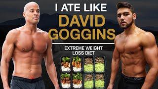I Ate Like Daטid Goggins For A Day *insane*