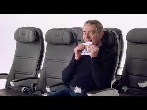 British Airways safety video Featuring Mr. Beans, Chiwetel Ejiofor and Others