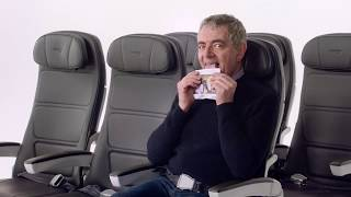 British Airways safety video Featuring Mr Beans Chiwetel Ejiofor and Others