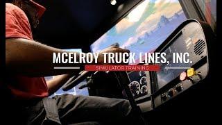 McElroy Truck Lines | Simulator Training