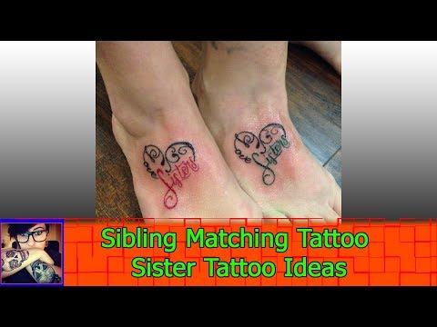 Sibling Matching Tattoo Sister Tattoo Ideas