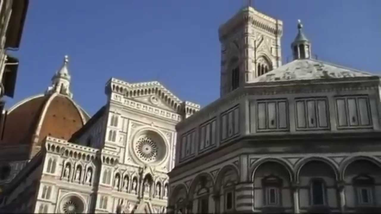 Porta nord del battistero di firenze youtube - Porta battistero firenze ...