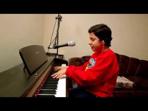 ABC - JACKSON 5. Georgie SOUNDS LIKE MICHAEL!!! 11 yr old sings & plays. STEREO, HD