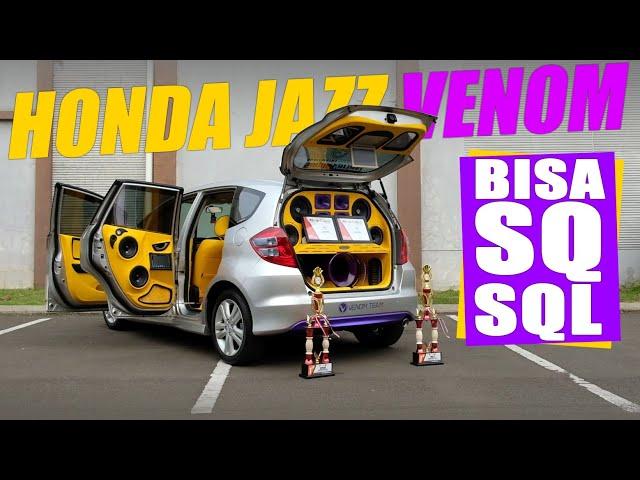 Venom Audio : Honda Jazz GE Sound Quality Loud (SQL) | Sugih Variasi