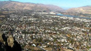 Wenatchee, Washington from Saddlerock