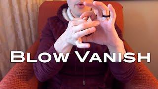 Blow Vanish - a coin magic trick from Shir Soul Magic