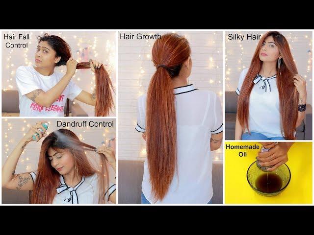 Best Homemade oil for Fast Hair Growth, Hair Fall Control & Healthy Thick Hair   Rinkal Soni