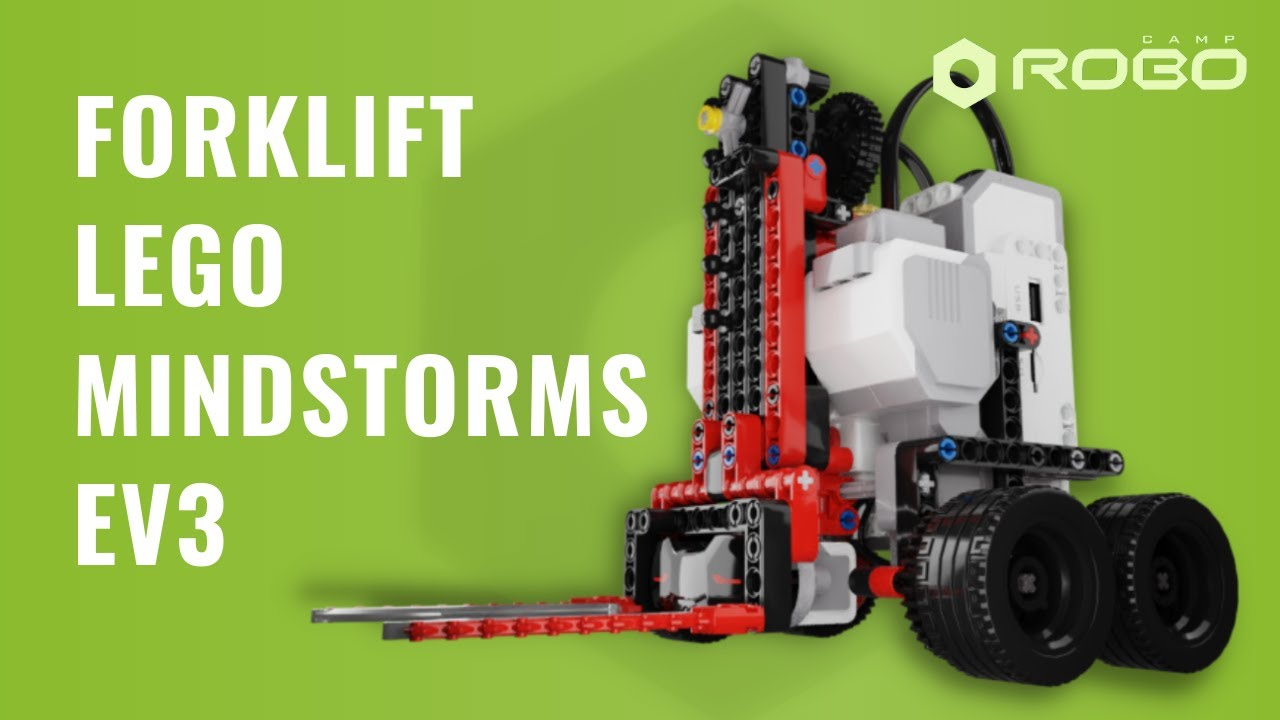 Fork-lift LEGO Mindstorms Ev3 by RoboCAMP