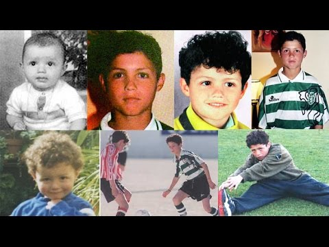 Cristiano Ronaldo Childhood Photos Rare Unseen Pictures