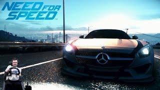 Дёрганый фриц - Mercedes AMG GT - NFS 2015/2016 на руле Fanatec Porsche 911 GT2