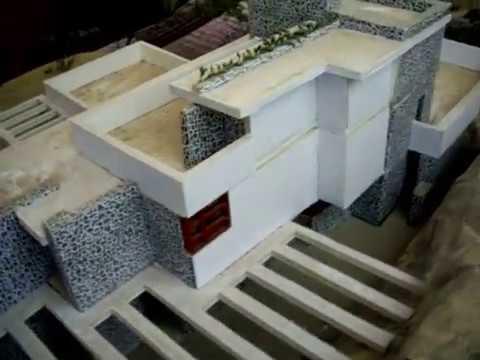Casa de este alojamiento Renovar una casa maqueta la cascada