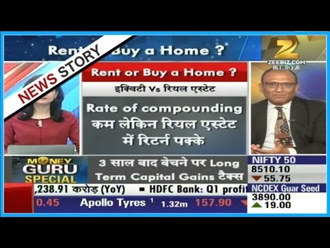 Money Guru : Financial expert advice for buying home or living in rent?