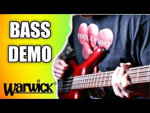 WARWICK ROCKBASS CORVETTE $$ METAL BASS DEMO