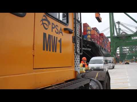 PSA Singapore - Through Our Eyes Part 2: Anchoring A Container Vessel