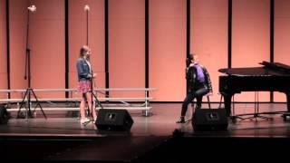 Kate Fahey sings Astonishing Lea Salonga Master Class