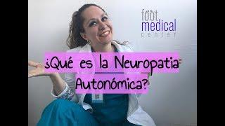 Contrae la neuropatía ¿Cómo autonómica? se