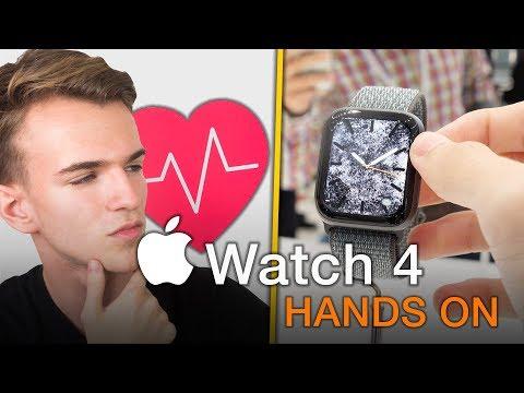 Apple Watch Series 4 è RIVOLUZIONARIO - PROVATO A CUPERTINO!