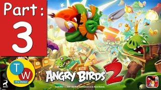 Angry Birds 2 - Gameplay Walkthrough Part 3 - Levels 16-20! 3 Stars! New Pork City! (iOS, Android)