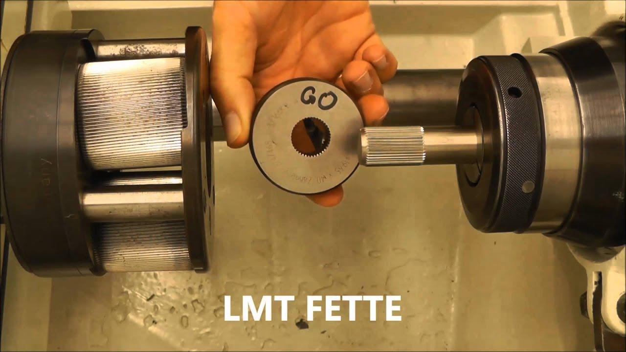 Lathe Machine Spline Rolling / Serra...