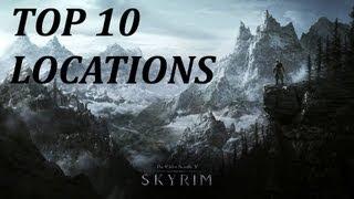 Top Ten Coolest Locations in Skyrim