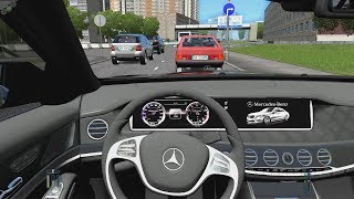 City Car Driving - Mercedes-Benz S63 AMG W222 | Street Racing