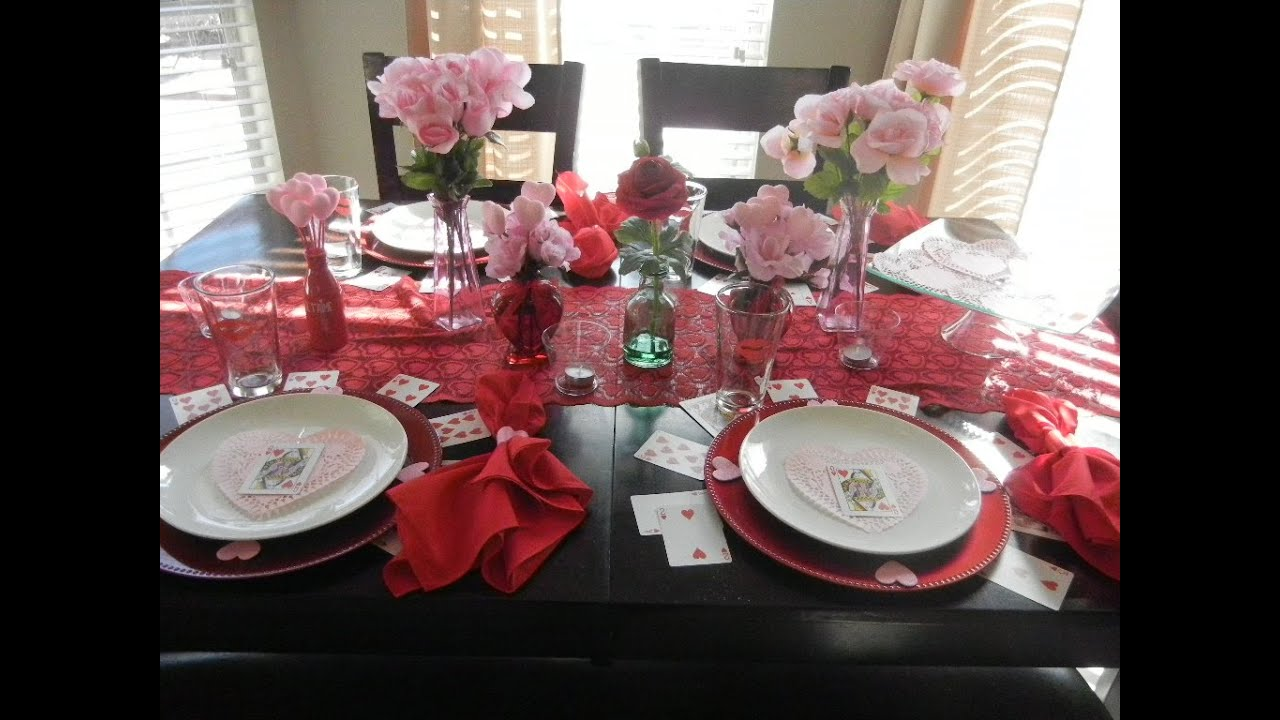 Gentil DIY: Valentineu0027s Day Tablescape With Items From Dollar Tree!!   YouTube