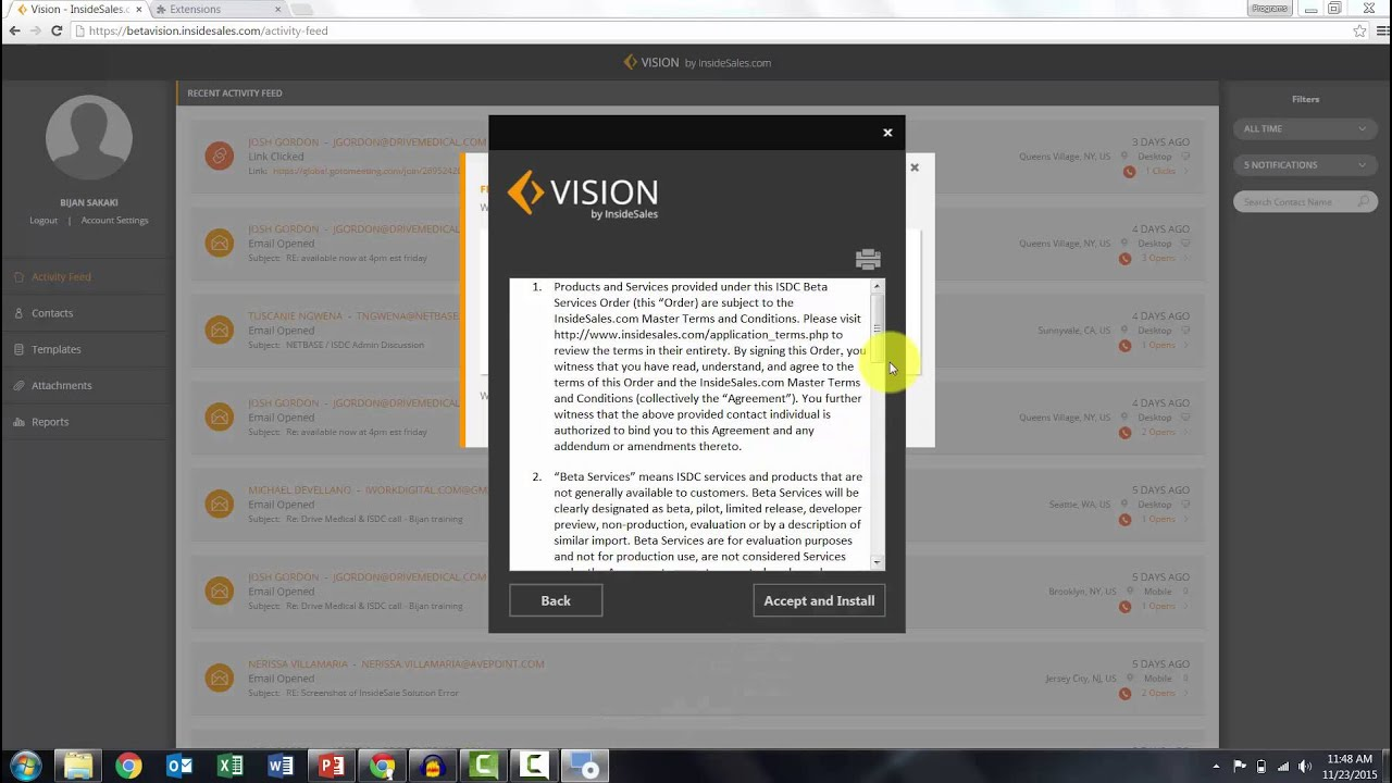 How To: Install Vision Plug-in (Microsoft Outlook)