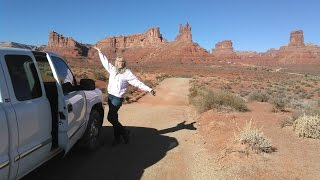 4WD Through Valley Of The Gods In GMC Pickup - Sorry no KTMs