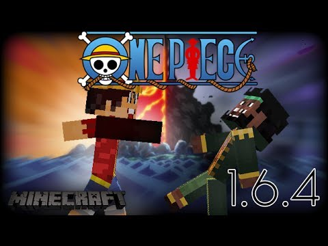 Minecraft: ONE PIECE MOD!! (1.6.4) (Mine Mine No Mi) - YouTube