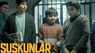 Suskunlar 1. Bölüm - Çocukların hapishanedeki ilk geceleri!