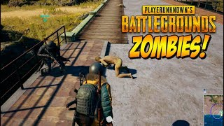 ZOMBIES VS HUMANOS! PLAYERUNKNOWN'S BATTLEGROUNDS con VEGETTA