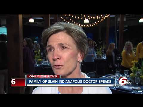 Family of slain Indianapolis doctor speaks for the first time