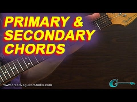RHYTHM GUITAR: Primary and Secondary Chords